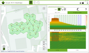 RF WiFi spectrum analyzer