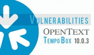 Vulnerabilidad en OpenText TempoBox
