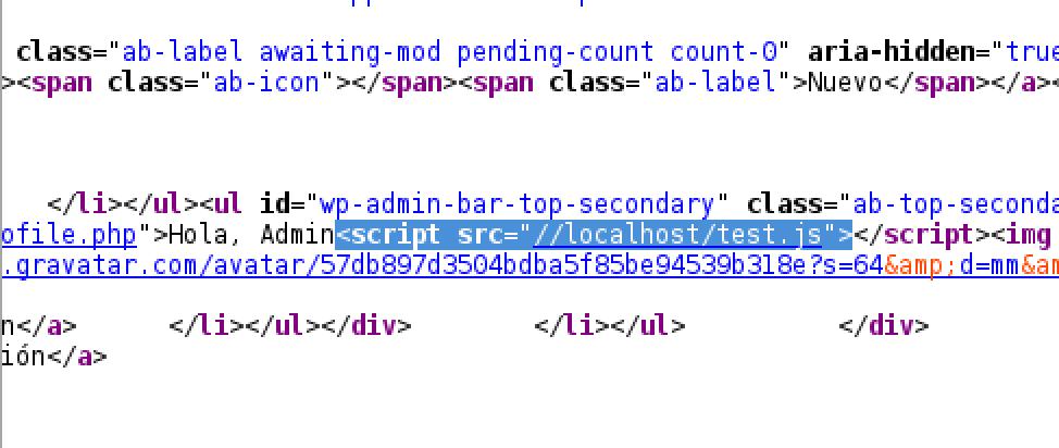 JavaScript añadido