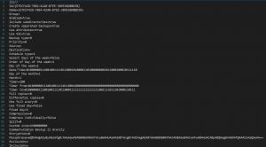 Ejemplo de plantilla de un backup programado