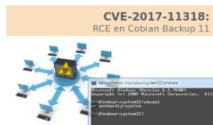 RCE en Cobian Backup 11