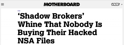 the shadow brokers