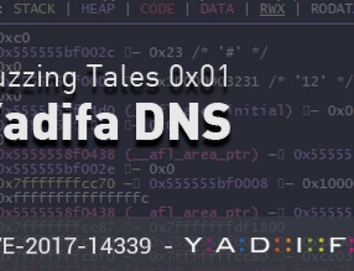 Fuzzing Tales 0x01: Yadifa DNS