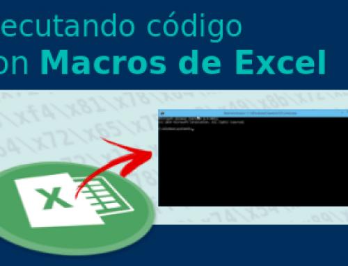 Diferentes formas de ejecutar código con Macros de Excel