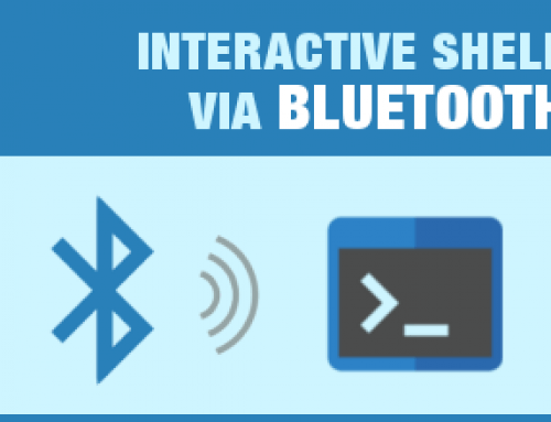 Interactive Shell via Bluetooth