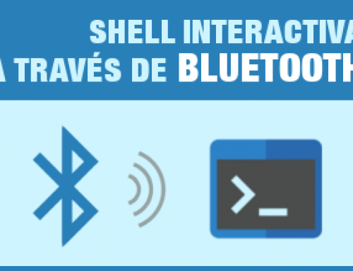 Shell interactiva a través de Bluetooth