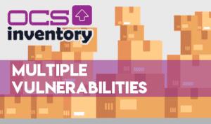 ocs inventory vulnerabilities