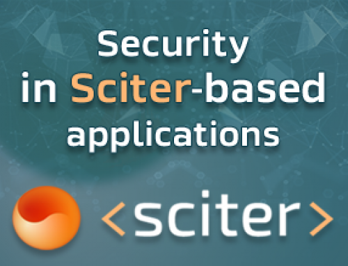 Security in Sciter-based applications