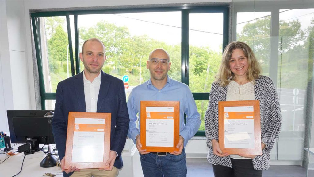 Applus+ gives to Tarlogic Security the ISO 27001 certification