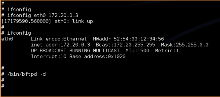 qemu ethernet address